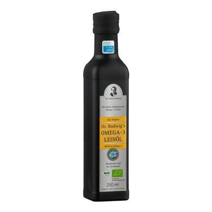 Bio Omega-3 Leinöl (250 ml)