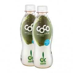 2 x Dr. Antonio Martins Coco Juice Bio-Kokoswasser