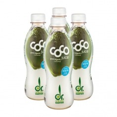 4 x Dr. Antonio Martins Coco Juice Bio-Kokoswasser