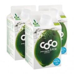 3 x Dr. Antonio Martins Coco Juice Bio-Kokossaft
