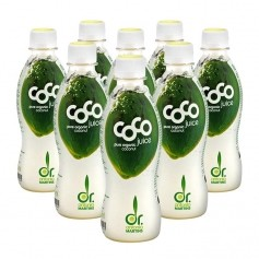8 x Dr. Antonio Martins Coco Juice Bio-Kokoswasser