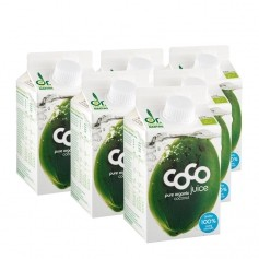 6 x Dr. Antonio Martins økologisk kokosjuice