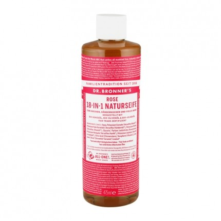Dr. Bronner's Liquid Soap Rose