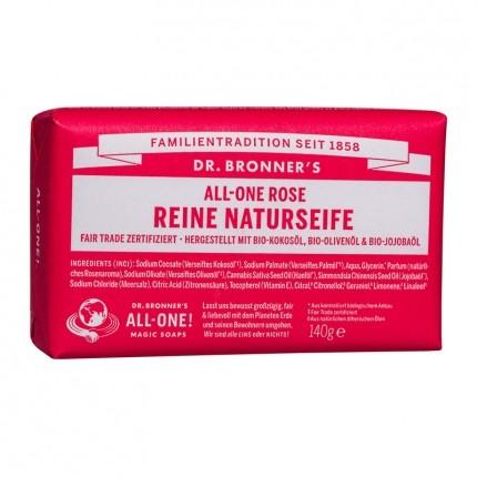 Dr. Bronner's Bar Soap Rose Doppelpack
