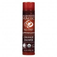 Dr. Bronner's Lipbalm Orange Ingwer