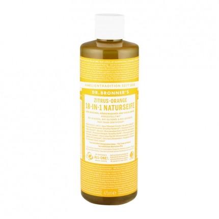 dr bronner 39 s liquid soap zitrus orange nu3. Black Bedroom Furniture Sets. Home Design Ideas