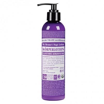 Dr. Bronner's Lotion Lavendel Kokosnuss