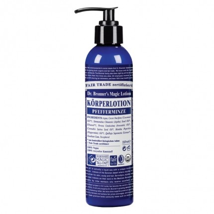 Dr. Bronner's Lotion Pfefferminze