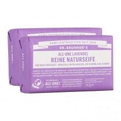 Dr. Bronner's Bar Soap Lavendel Doppelpack