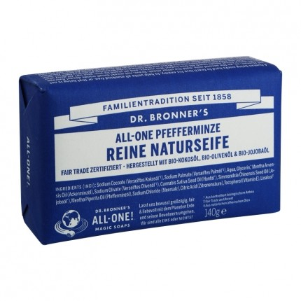 Dr. Bronner's Bar Soap Pfefferminze