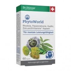Dr. Dünner PhytoWorld Rhodiola, Passionsblume, Kapseln