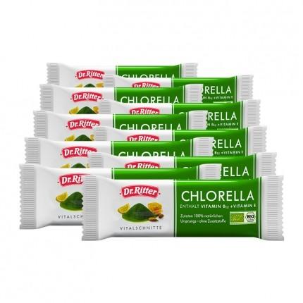 10 x Dr. Ritter Chlorella Bio Vitalschnitte