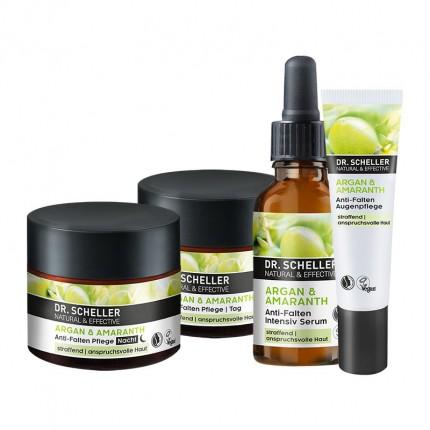 Dr. Scheller Arganöl & Amaranth Anti Falten Gesichtspflege-Set