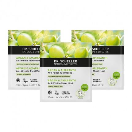 Dr. Scheller Arganöl & Amaranth Tuchmaske für anspruchsvolle Haut