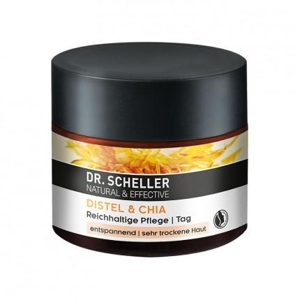 Dr. Scheller Distelöl & Chiasamen Intensiv Aufbauende Tagespflege