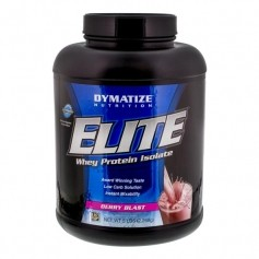Dymatize Elite Whey Strawberry, pulver