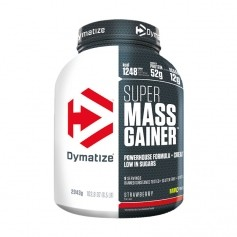 Dymatize Super Mass Gainer Strawberry, pulver