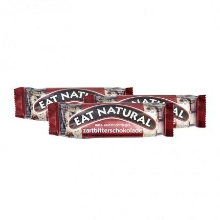 3 x EAT NATURAL Bar Tyttebær Macadamia med mørk sjokolade