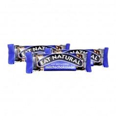 3 x EAT NATURAL Riegel Erdnuss Cashew Cranberry mit Milchschokolade