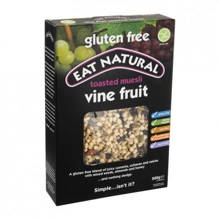 EAT NATURAL Müsli mit Rosinen & Sultaninen glutenfrei