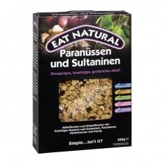 EAT NATURAL Müsli mit Paranüssen & Sultaninen