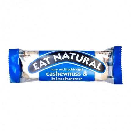 6 x EAT NATURAL Riegel Cashew Blaubeer mit Joghurtüberzug