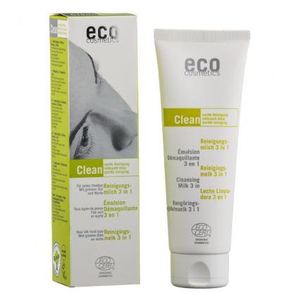 ECO Clean Reinigungsmilch 3in1 mit grünem Tee und Myrte