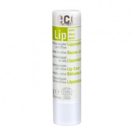 eco cosmetics Lippenpflegestift, Granatapfel-Olivenöl