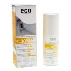 ECO solgel ansikte solskyddsfaktor 30 med havtorn och granatäpple