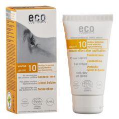 ECO solkräm solskyddsfaktor 10 med havtorn och oliv