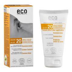 ECO solkräm solskyddsfaktor 20 med havtorn och oliv