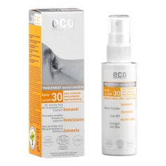 ECO sololja solskyddsfaktor 30 med havtorn och granatäpple