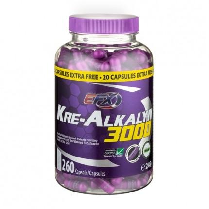 EFX Kre-Alkalyn 750 mg, Kapslar