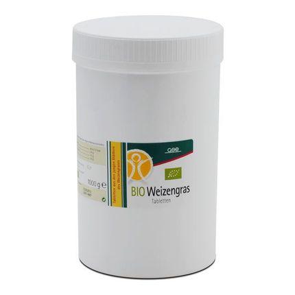 Ekologiskt Vetegräs tabletter