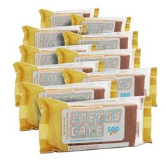 Energy Cake Caramel-Chocolate Bar