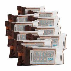 10 x Energy Cake Schokolade, Riegel