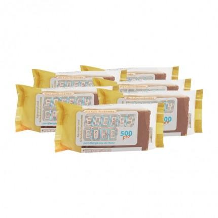 6 x Energy Cake Karamel und Schoko, Riegel