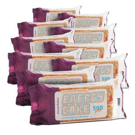 10 x Energy Cake Kirsch/Kokos, Riegel