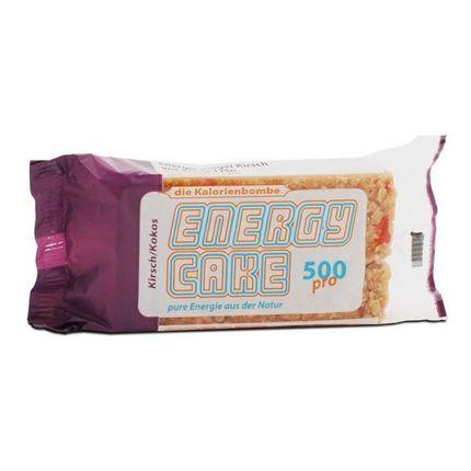 6 x Energy Cake kirsebær og kokos, energibar