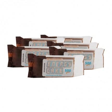 6 x Energy Cake Schokolade, Riegel