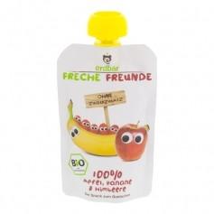 Erdbär Quetschbeutel Freche Freunde Banane-Himbeer Bio