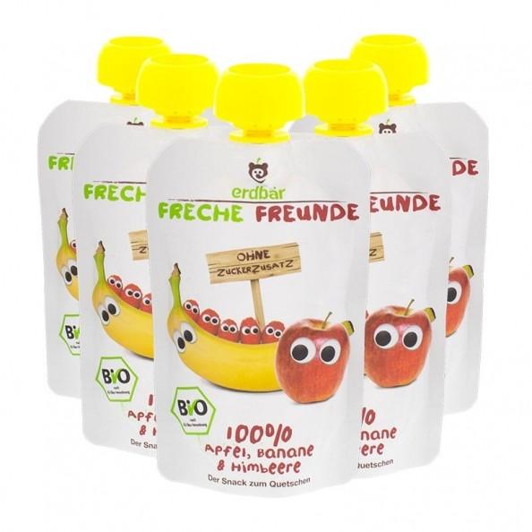 erdb r quetschbeutel freche freunde banane himbeer nu3. Black Bedroom Furniture Sets. Home Design Ideas