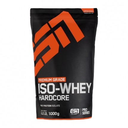 ESN Iso-Whey Hardcore Strawberry