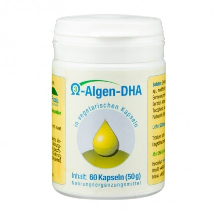 Vegetarisches Omega-3-Algen-DHA, Kapseln