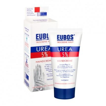 Eubos Trockene Haut 5 % Urea Handcreme