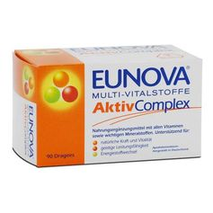 Eunova Active Multi-Vitamins Coated Tablets