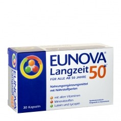 Eunova Long-Term Multi-Vitamins 50+ Capsules