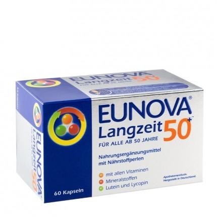 Eunova, Multi-vitalité longue durée 50 et plus, gélules