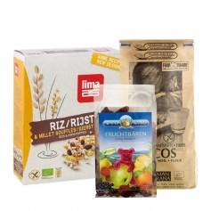 Buntes Glutenfreies Back-Paket