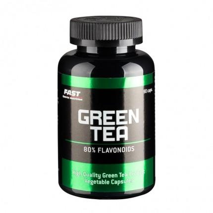 Fast Sports Nutrition Green Tea 90 kapselia - Antioksidantti ja laihdutusvalmiste
